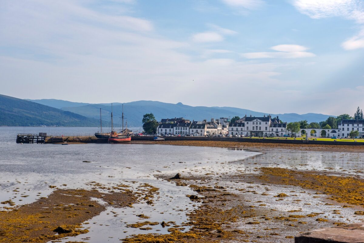 Inveraray Port seen from near the bridge